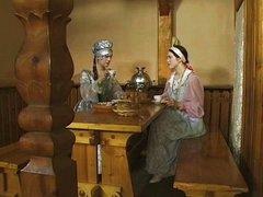 Juvenile Russian lesbian babes