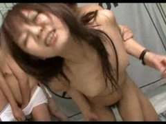 Cumcovered japanese teen