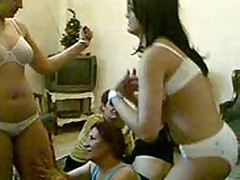 arabic girls party for cleaning 'em selfs from unwanted body hair