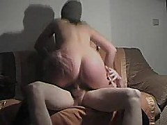 This german fuck floozy rides cock, sucks dick, and receives slammed doggy style and receives a cum blast on her ass!!