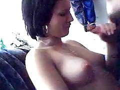 It's definitely a hawt turn on when your girlfriend pulls out the cock out of even asking and starts to slobber on it. See this bitch do exactly that and add a little something extra by letting him film her. She's the hotty of everyone's dreams!