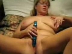 The hottest of wifes videos reveals the secret of this mature lady. She adores being hard satisfied with sex toys and indulges every day in hot masturbation session. The wench teases her pussy with a sex toy promoting its cum and cries of bizarre orgasm.