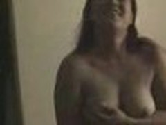 Insatiable and wild, this chubby chick loses any control when sees home camera in her lover's arms. That babe exposes big bra buddies and eats pecker.