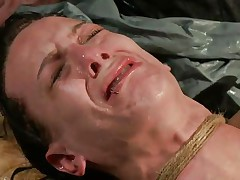 The fact she's scared and cries makes the punishment even sweeter for me. i fastened her hard and the rope around her neck almost suffocates her so why the fuck that babe cries instead of trying to breath? Well, that's that, perhaps some hard cookie rubbing with a sextoy will make her happy, or at least to moan not cry