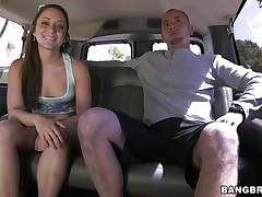 Cutie Remy LaCroix is one time once more delighting us with her sex drive. This time the hawt ass babe takes a ride white the group sex bus and gets a hard cock between her soaked lips and in that tight shaved pussy of hers. Look at her working hard for some cum, ridding the guy in cowgirl position