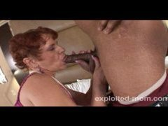 Old mom doing darksome cock