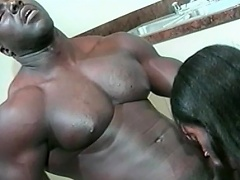 This hawt darksome honey loves her man to be big and black. See this...